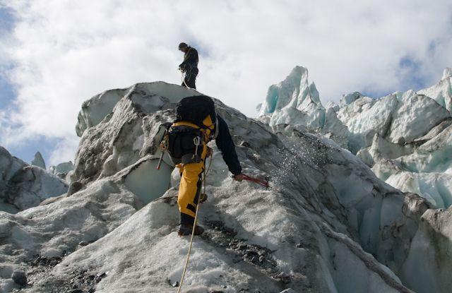 spacer po lodowcu